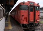 キハ47 津山駅