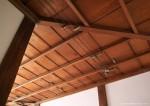 天井の電気配線