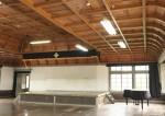 檜の柾目天井板