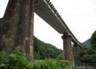 石積の松ほうき橋梁