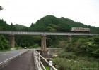 一両^^  松ほうき橋梁