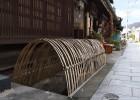 竹の転落防止柵