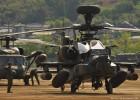 エンジンスタート! AH-64D アパッチ・ロングボウ 2014-4-27 陸自善通寺基地