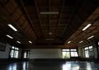 見事な檜柾目の天井