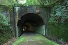 閑谷隧道 大正時代のカーブトンネルは珍しいのでは