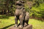 狛犬 鋳鉄製
